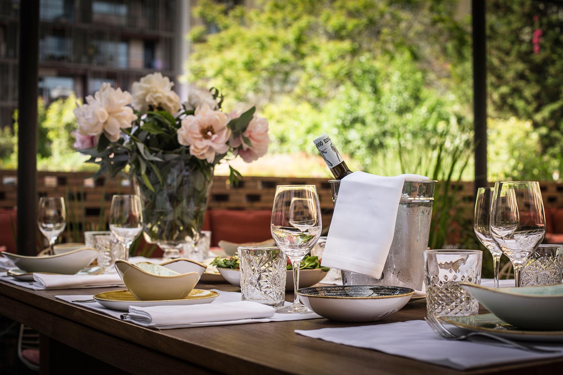 Patio Terraza Restaurante Solomillo