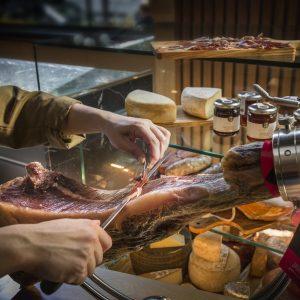 Joselito Iberian ham in Charcuteria