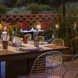 Patio Terrace Solomillo Restaurant