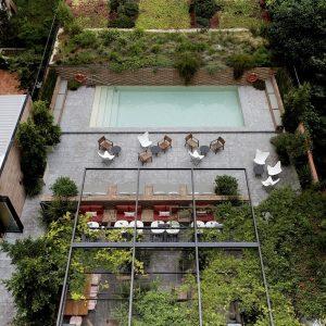 Vista Patio-Terraza Restaurante Solomillo